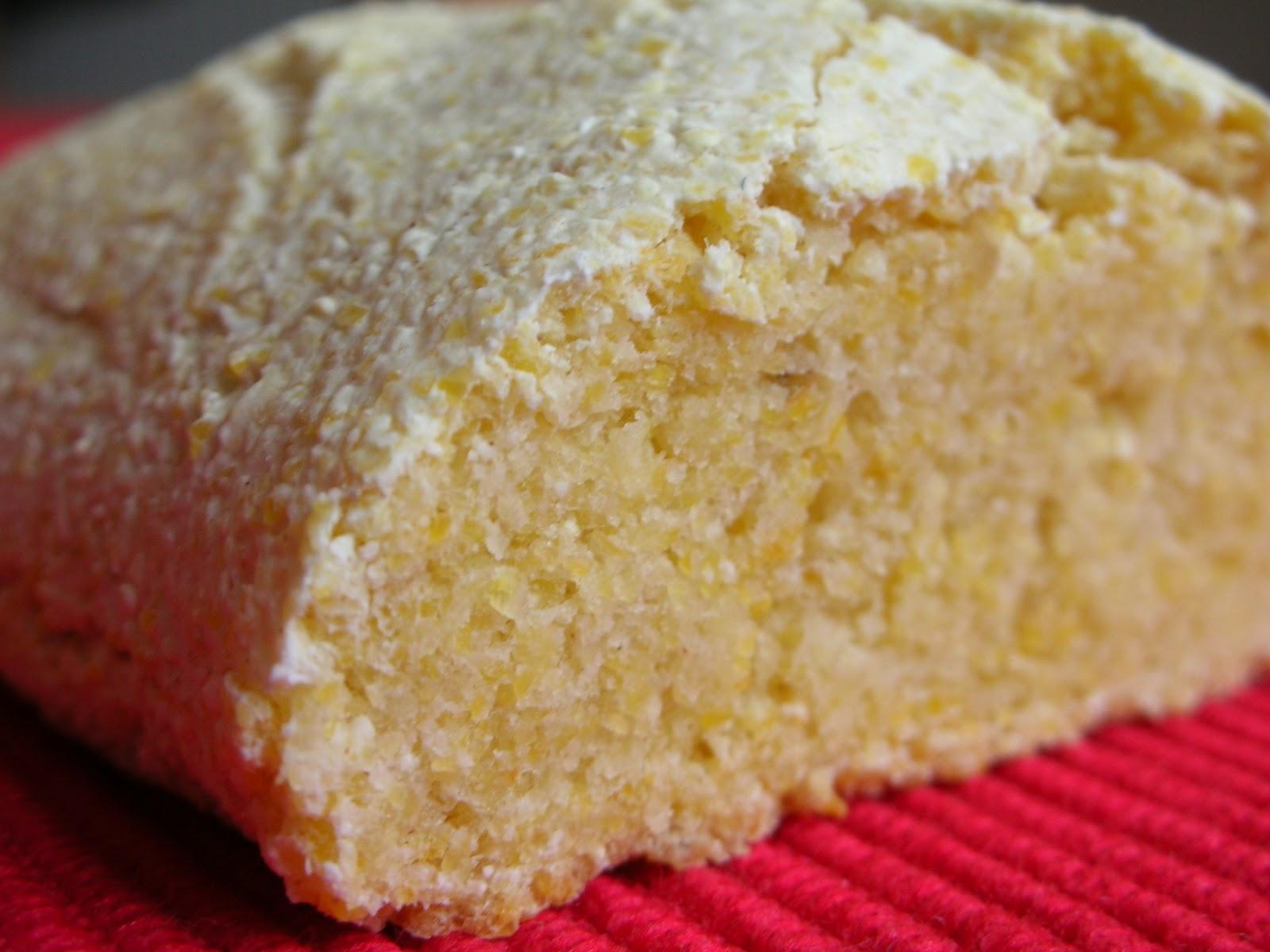 Easily Good Eats: Polenta Bread Recipe