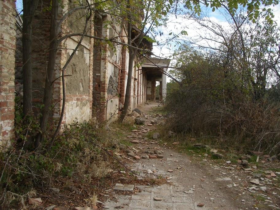 Sanatorio de la Alfaguara, el hospital de berta, hospital del miedo
