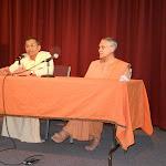 Swami Atmajnanananda joins Swami Sarvadevananda in answering questions