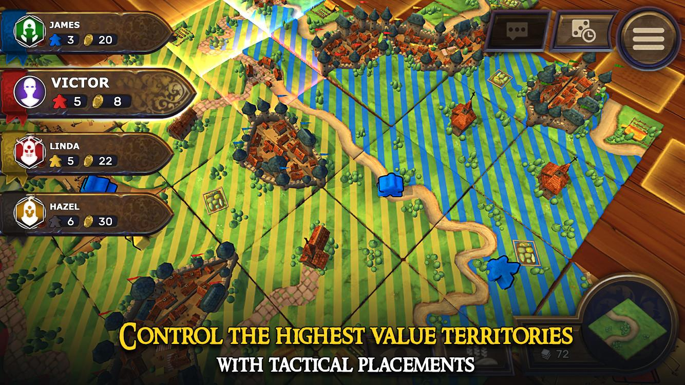 Carcassonne: Official Board Game -Tiles & Tactics screenshot #2