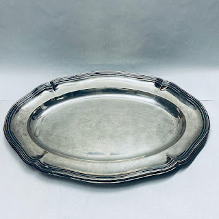 835 Silver Large Tray