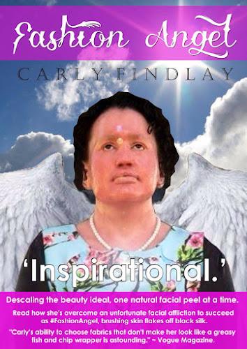 Carly Findlay #FashionAngel book cover