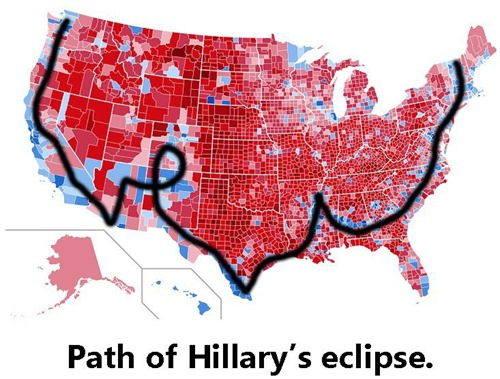 path of hillary eclipse