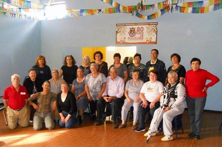 Seniores Penajoienses participam nas aulas de ginástica e hidroginástica