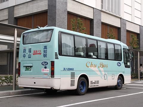 中国バス「オーシャンライナー」 ・・67 リア