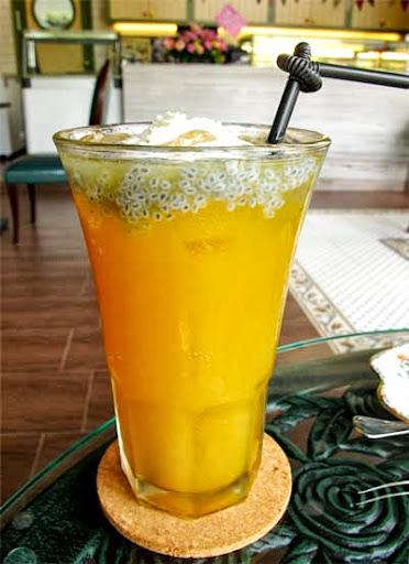 熱帶水果茶。NT 165 元-軟鐵Soft Metal英式下午茶