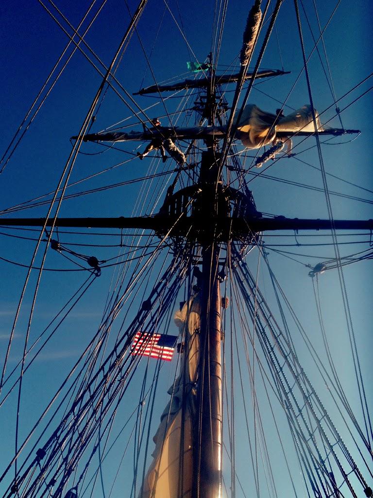 """Lady Washington Setting Sail"" by Sita Thompson -- 1st Place B Special"