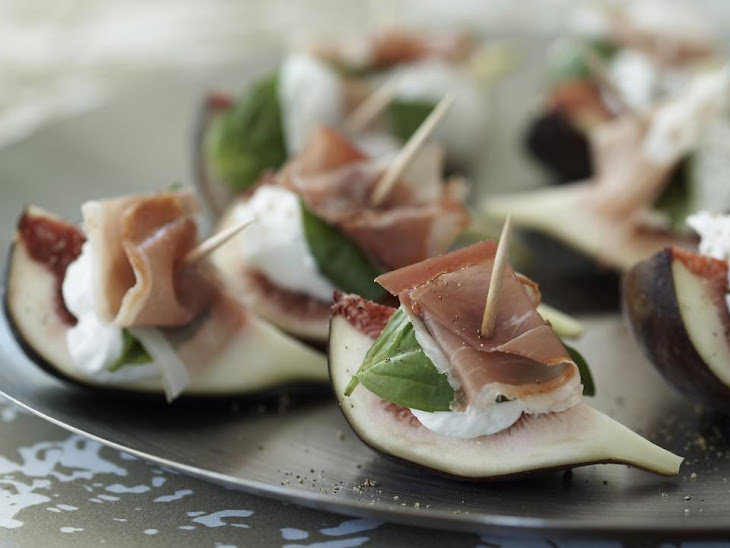 Figs with Goat Cheese and Prosciutto Recipe