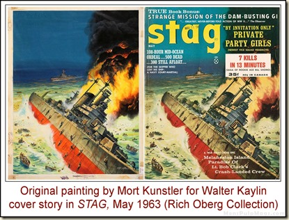 09 - STAG, May 1963, Mort Kunstler art for Walter Kaylin story