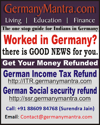 German Income tax refund