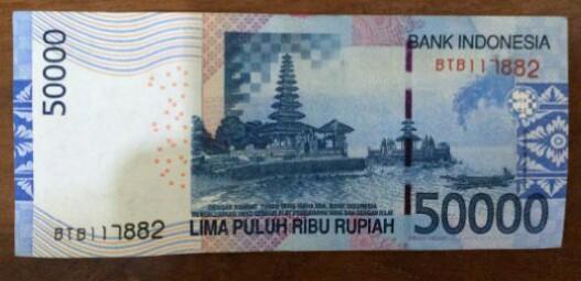 Foto Uang Sebagai Bukti Pembayaran