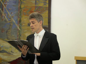 Photo: Renginį vedė solistas Vitalijus Muravjovas (tenoras)