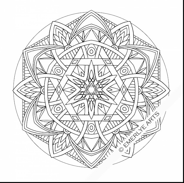 Fabulous Printable Mandala Coloring Pages Adults With Free Printable Mandala  Coloring Pages And Printable Mandala Coloring