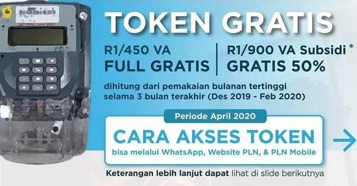 Cara Klaim Token Listrik Gratis via WA (WhatsApp) dan PLN