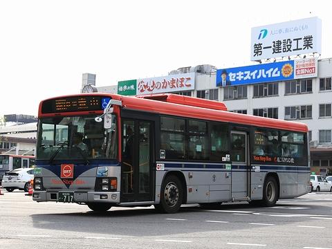 新潟交通 萬代橋線BRT ・717