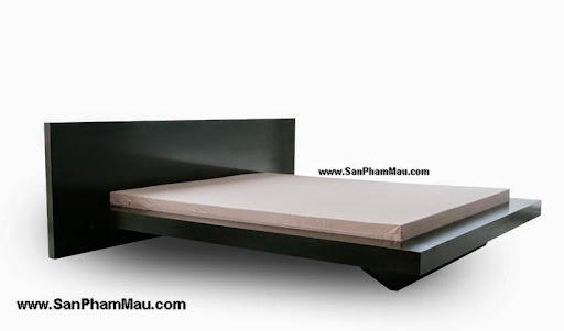 Giường ngủ bằng gỗ giá rẻ
