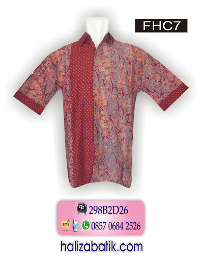 baju batik, baju atasan batik, contoh batik modern
