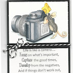 MC0663F Take Another Shot Additional stamp from House Mouse