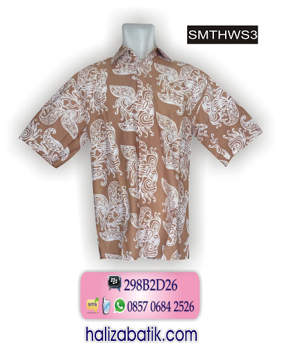 model batik kerja, toko baju batik, jual baju murah