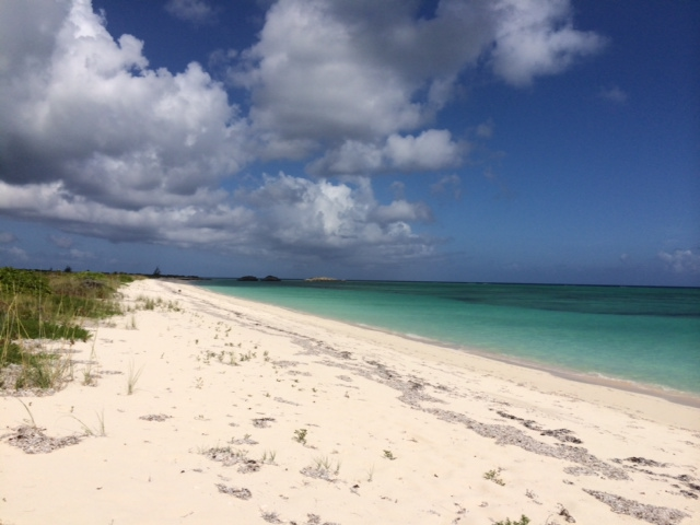 One of the many totally deserted beaches on North Caicos, in the Turks and Caicos Islands. From 5 Travel Habits That Instantly Change Your Mood