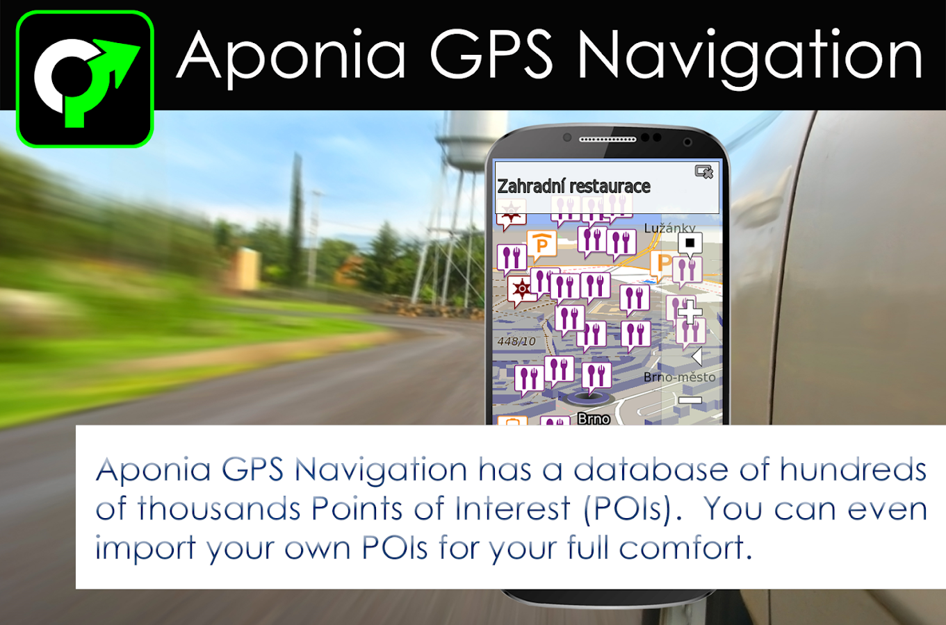 GPS Navigation & Map by Aponia- screenshot