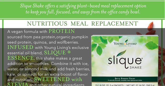 Oily Little World: Slique Shake ~ Nutritious Meal Replacement