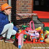 Vrijmarkt Koningsdag 2016 bij de Poiesz Nieuwe Pekela - Foto's Harry Wolterman