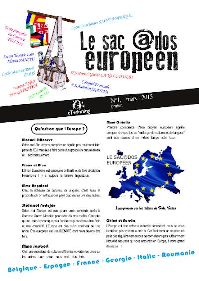 ed5 (ELECTRONIC - revistă scolara) le sac @dos européen_Colegiul Economic_PETRE S. AURELIAN_SLATINA_OLT