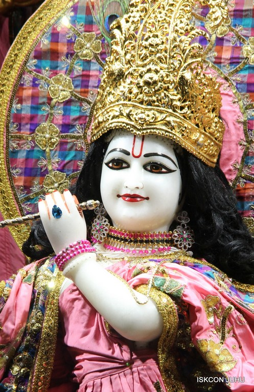 ISKCON Juhu Mangala Deity Darshan 09 April 2016 (48)