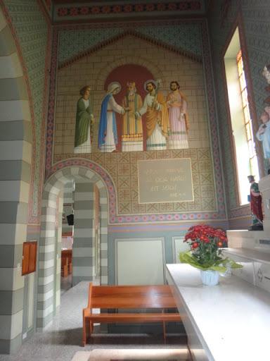 Parede lateral esquerda - Capela dedicada a São José