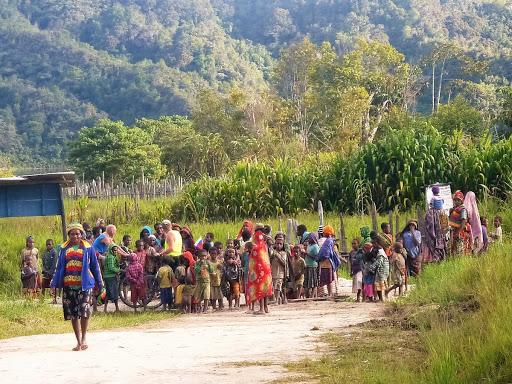 Западная Папуа жители