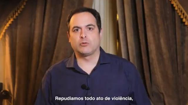Governador se pronuncia sobre atos violentos da Polícia Militar contra manifestação pacifica no Recife