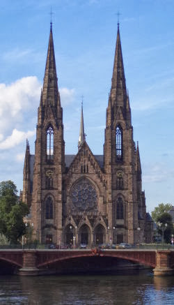 Church of St. Paul, Strasbourg, France