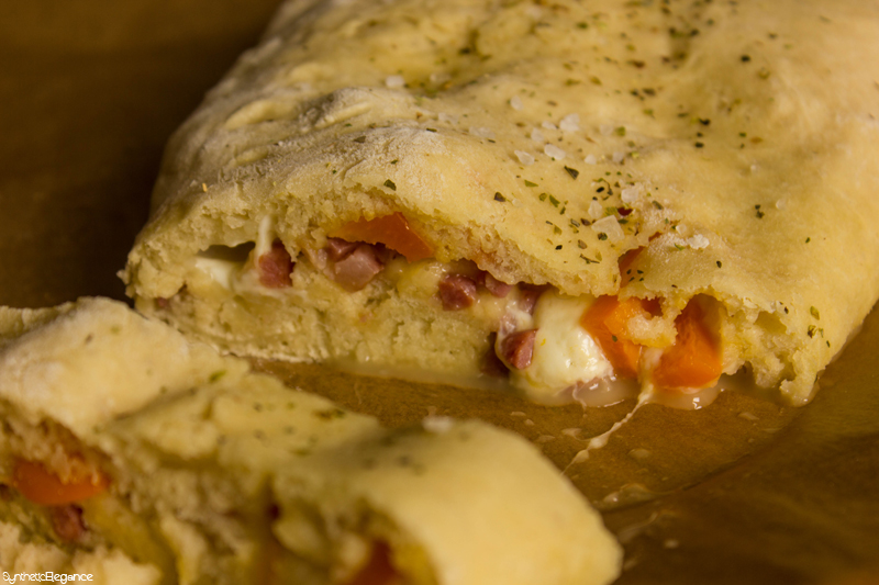 Homemade Calzone- on www.syntheticelegance.com
