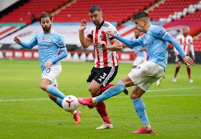 ملخص وهدف فوز مانشستر سيتي علي شيفيلد يونايتد (1-0) الدوري الانجليزي