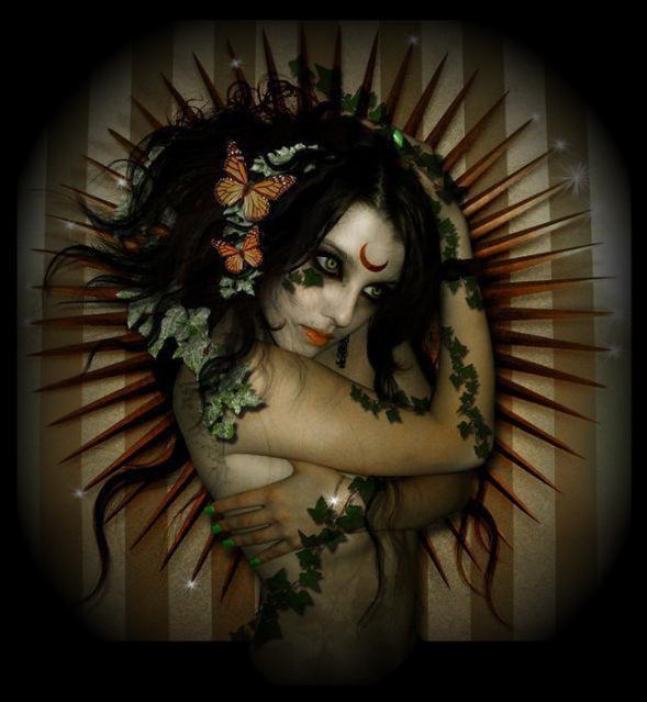 Dark Pagan Goddess, Night Magic