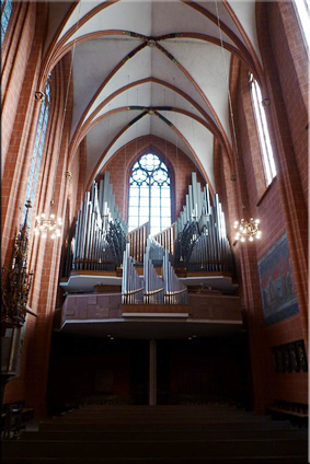 Interior de la Catedral de San Bartolomé (Sankt Bartholomäusdom)