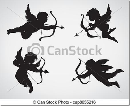 cupidos siluetas (14)