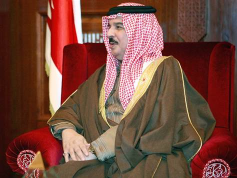 Bahrain - Hamad bin Isa Al Khalifa, king of Bahrain   (photo-Scott Olson / AFP/Getty Images)