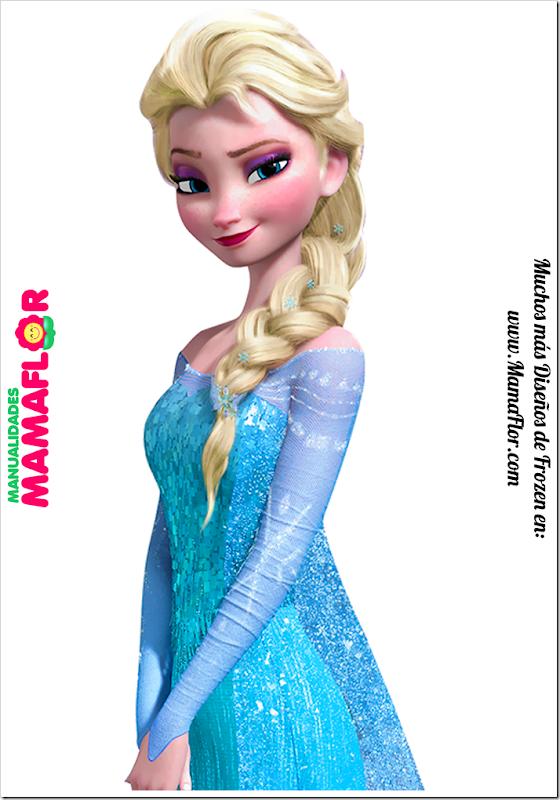 Elsa-Frozen-Centro-Mesa