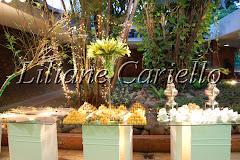 Fotos de decoração de casamento de Casamento Carolina e Marcos no Clube Paissandu da decoradora e cerimonialista de casamento Liliane Cariello que atua no Rio de Janeiro e Niterói, RJ.