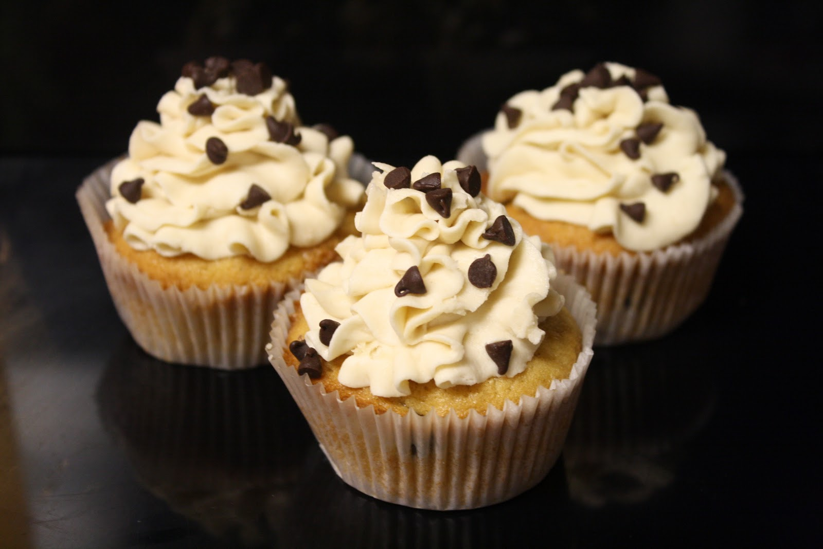yes chocolate chip cookie dough cupcakes as in chocolate chip cake ...