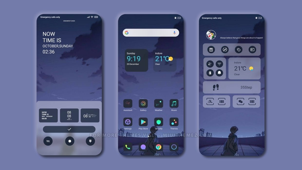 DEEP PURPLE - U.I MIUI Theme