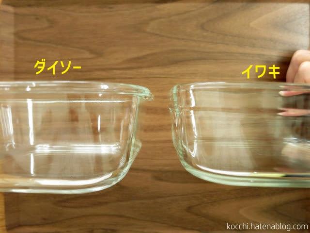 ダイソーとイワキの比較-2
