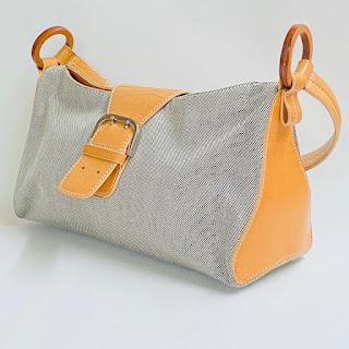 Tod's Canvas Shoulder Bag