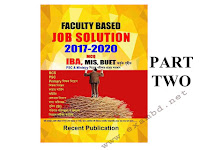 Faculty Based Job Solution 2017-2020 - Part 2 PDF ফাইল