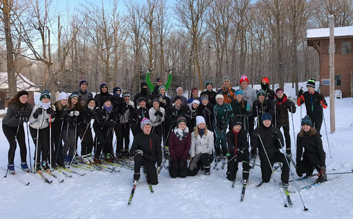 Holy Family Nordic ski team