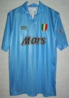 3 Jersey Bola Termahal Di Dunia - Jersey Napoli Termasuk Juga Loh!!