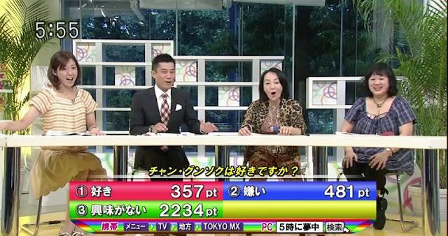 【動画】あなたは、チャン・グンソクは好きですか?投票結果