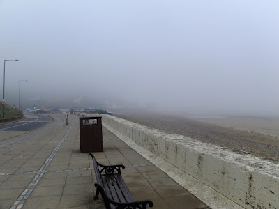 A foggy view of Saltburn Pier